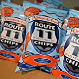 Route 11 - 6 PACK - Lightly Sea Salted & Spicy Chesapeake Crab All Natural Potato Chips 6-Pack (6 oz. per Pack)