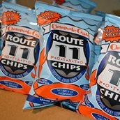 Price comparison product image Route 11 - 6 PACK - Lightly Sea Salted & Spicy Chesapeake Crab All Natural Potato Chips 6-Pack (6 oz. per Pack)