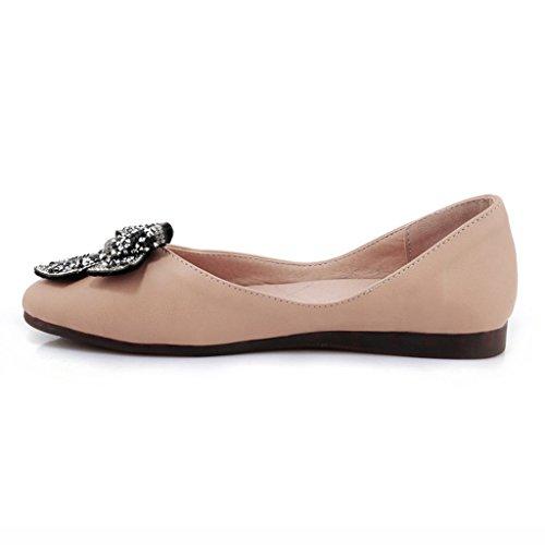 Chaussures Été Femelle Plates 35 Étudiant Femme Confortable Hwf Noir couleur Taille Femmes Beige Simples Pour rwXxr0BF