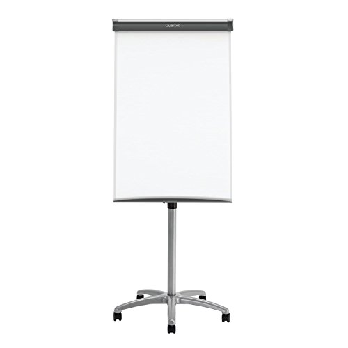 Quartet Easel, Magnetic Whiteboard/Flipchart, 3' x 2', Compass Mobile Presentation, Graphite Frame (ECM32EU) (Flip Chart And Stand)