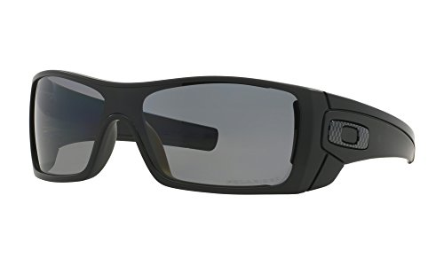 Oakley Batwolf Sunglasses Matte Black / Grey Polarized & Carekit - Batwolf Polarized Oakley