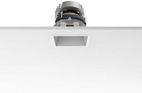 Flos Easy Kap 80 LED orientable cuadrado foco empotrable techo - blanco, 25° Medium, 3000°K luz cálida: Amazon.es: Iluminación