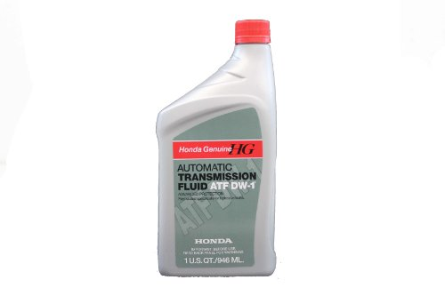 Genuine Honda Fluid 08200-9008 ATF-DW1 Automatic Transmission Fluid - 1 Quart (Best Atf For Honda)