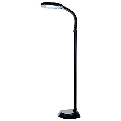 Balanced Spectrum Floor Lamp (Bedford Home Sunlight Floor Lamp 5 Feet - Black)