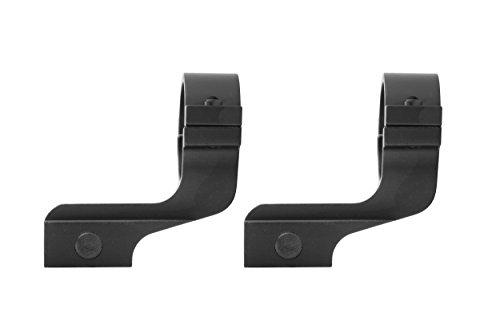 Monstrum Tactical Cantilever Reversible Scope Ring Set, Offset Design, 1 inch diameter (Black) For Sale