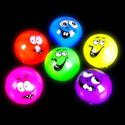 Light-Up Ball Funny Faces 2