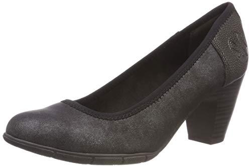 22412 Scarpe black Nero Con oliver Tacco S 21 5 5 1 001 Donna CwBt1qAU
