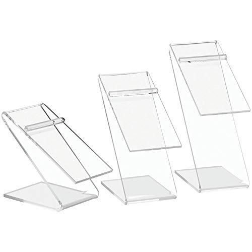 Shoe Risers, Set of 3 Acrylic