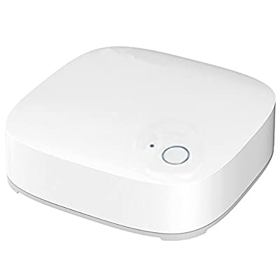 ZigBee Mini Hub Smart Home Hub for ZigBee Home Automation, Compatible with ZigBee Devices, White