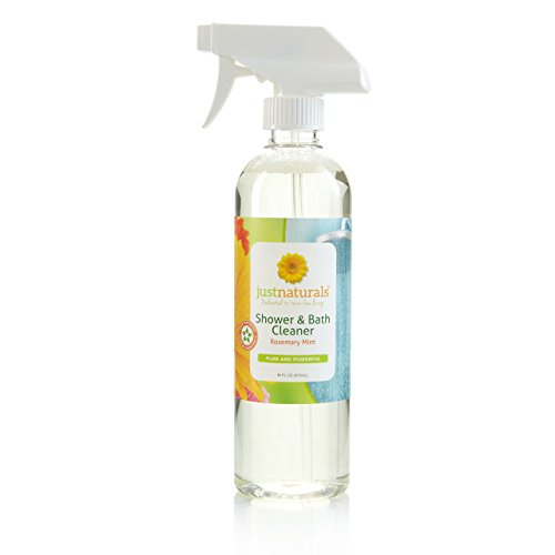 Just Naturals Shower & Bathroom Cleaner with