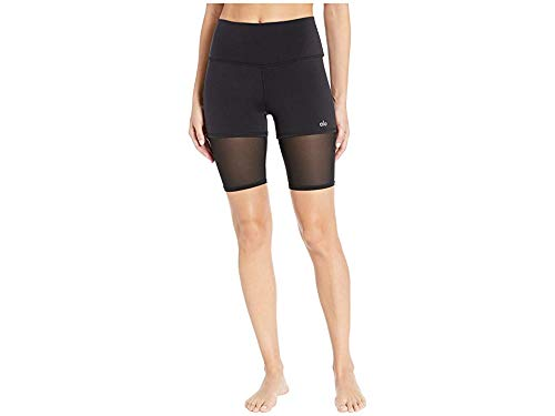 ALO Women's High-Waisted Shorts Black Small 9