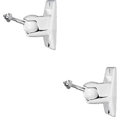 - Jumbl SINSB7W ProGrip Ultra Stainless Steel Speaker Wall Mount Bracket, Pair of 2