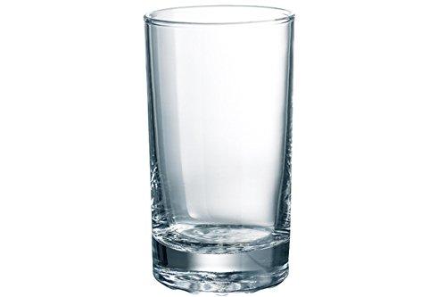 senza indicatore di riempimento DUROBOR 384//26 Bowling vetro in vetro 260 ml in vetro confezione da 6