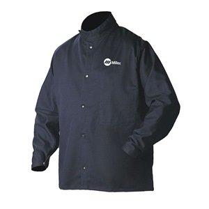 Soldadura chaqueta, azul marino, algodón/nailon, 2 x l: Amazon.es: Amazon.es