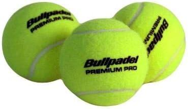 Bullpadel Premium Pro - Cajón 72 Bolas de Padel (24x3): Amazon.es ...
