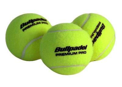 Bullpadel Premium Pro - Cajón 72 Bolas de Padel (24x3): Amazon.es: Deportes y aire libre