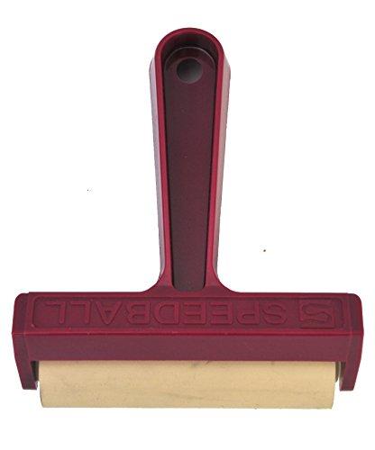 Speedball 041217 #49 Pop-In Soft Rubber Brayer - 4 Inch Soft Rubber Brayer ()