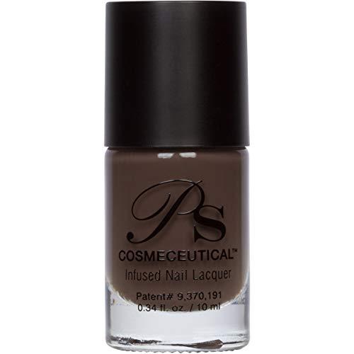 PS Polish All Natural Nail Polish, Safe Non-Toxic Professional Grade Nail Art and Polish Nail Lacquer, Best Nail Polishes for Manicure, Pedicure, Hands, Nails MSRP $14.99 (Shadow)