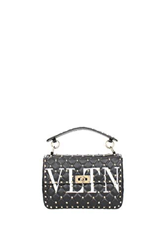 Noir Valentino Femme Sacs à 0B0122XQC main Garavani Cuir 8x8rqP0A