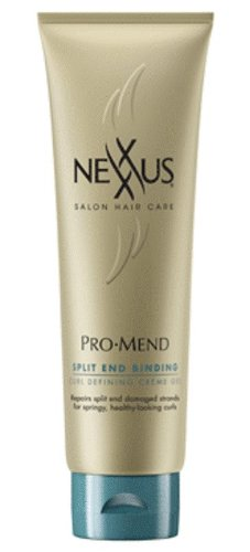 NEXXUS ProMend Split End Binding Curl Defining Crème Gel, 5.5 Fluid Ounce (Nexxus Promend Split End Binding compare prices)