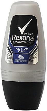 Desodorante Antitranspirante Roll On Men Active 50 ml, Rexona