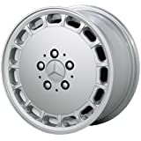 """Replica 15"""" New Look (15 hole) Alloy Wheels for Mercedes Benz - Set of 4 with Lugs and Cap!"""