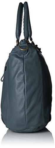 Liebeskind Berlin Greta6 Vintag, Bolsa de Asa Superior para Mujer, 45x35x17 cm (B x H x T) Azul (Dark Blue 0108)