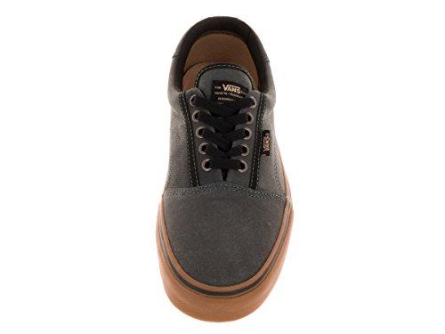 Vans Mens Rowley Pro (solos) Chaussure De Skate Noir / Gomme