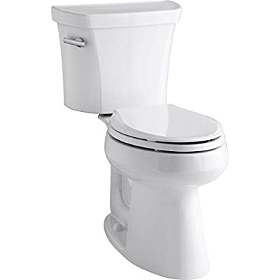 Kohler K-3889-0 Highline Comfort Height 1.28 gpf Toilet, 10-inch Rough-In, White