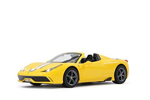 Jamara 405030 - Ferrari 458 Speciale A, Fahrzeug, 1:14, 27 MHz, gelb