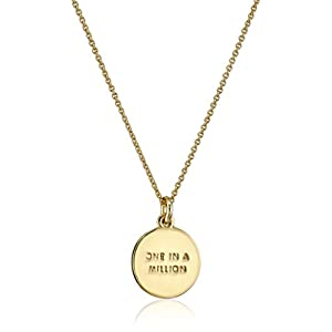 "Kate Spade New York ""Kate Spade Pendants M Pendant Necklace, 18"""