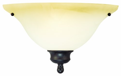 Thomas Lighting SL853122 Wall Essentials Wall Light, Sable Bronze (Bronze Lighting Lighting Thomas)