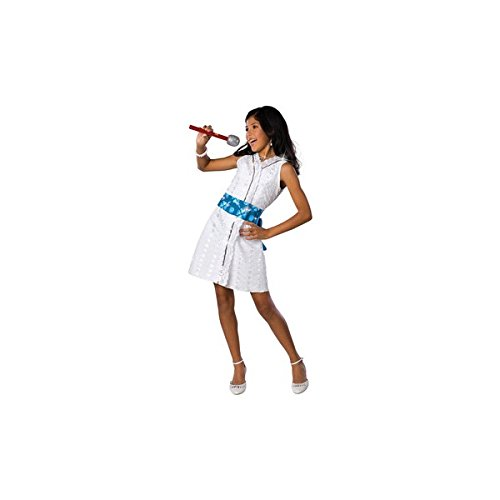 (High School Musical 2 Gabriella Star Dazzle Performance Costume: Girl's Size 8-10)