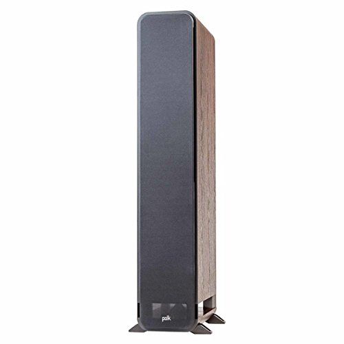 Polk Audio Signature Series S60 American Hi-Fi Home Theater Large Tower Speaker (Classic Brown Walnut)