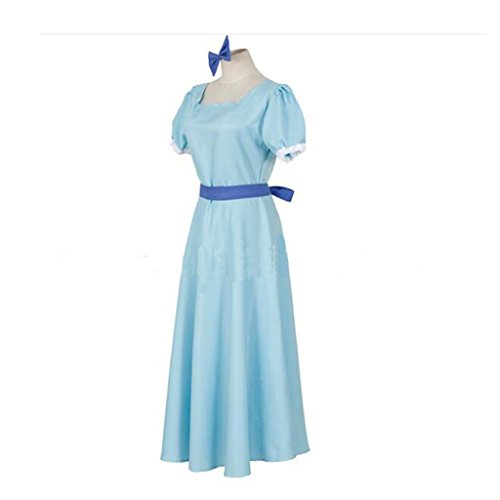 [Harry Shops Holiday Wendy Rachel Dress Cosplay Costume-Medium] (Wendy Costumes For Adults)
