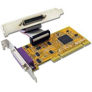 BestLink 2 Port IEEE1284 Parallel Low-Profile PCI Card by BestLink