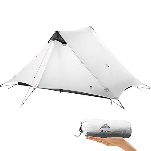 KIKILIVE Ultralight Tent 3-Season Backpacking Tent for 1-Person or 2-Person Camping, New LanShan Outdoor Camping Tent Shelter,Perfect for Camping, Trekking, Kayaking, Climbing, Hiking