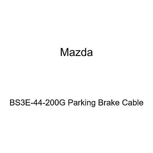 Mazda BS3E-44-200G Parking Brake Cable (2006 Mazda 3 Parking Brake Cable Replacement)