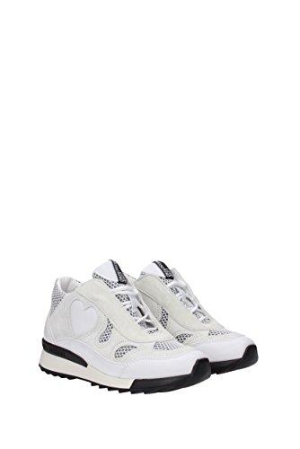 JA15294G05JG2 EU Polyuréthane Femme Moschino Blanc Sneakers Love qwItF4X4