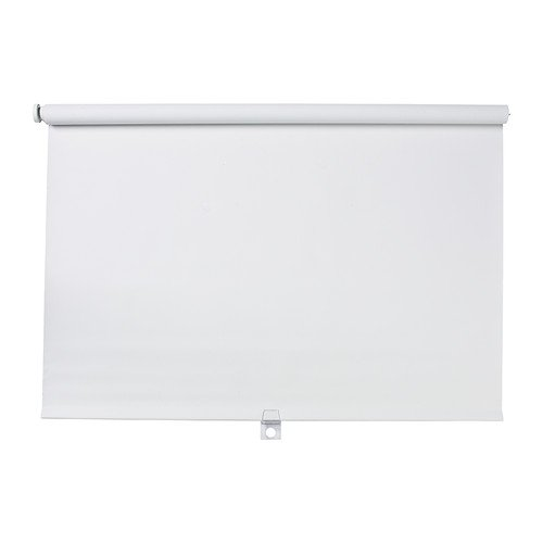 (Ikea Block-out roller blind, white 23x76 3/4