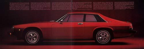 1978 JAGUAR S-TYPE COUPE XJ-S VINTAGE COLOR SALES BROCHURE FOLDER - USA - WONDERFUL ORIGINAL !!