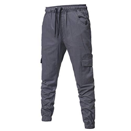 Survêtement En Pour Loisirs De Pure Simple Pantalon Style Vrac Cordon Grau Pantalons Automne Printemps Hulday Couleur Long Bandage À Hommes Sport Mode 7CwOCqT5x