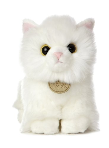 - Aurora 26220 World Miyoni Angora Kitten Plush, 7.5