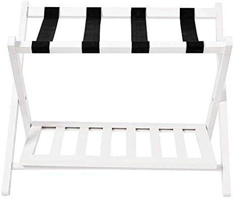 ZT-TTHG 荷物が背もたれ折り畳み式のソリッドウッド荷物ラックがないと荷物ラック、ホテルルームラック、荷物はベッド棚荷物バックパックラック