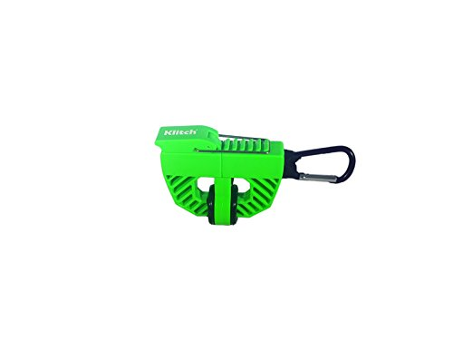 The Klitch Footwear Clip Hangs Sports Shoes On Any Bag (Green)