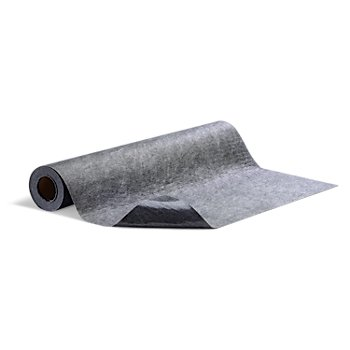 "Pig Grippy Floor Mat - Gray Adhesive Backing; Poly-Backed, Heavy Foot Traffic, (1) 36"" x 25' mat per roll (2 Rolls)"