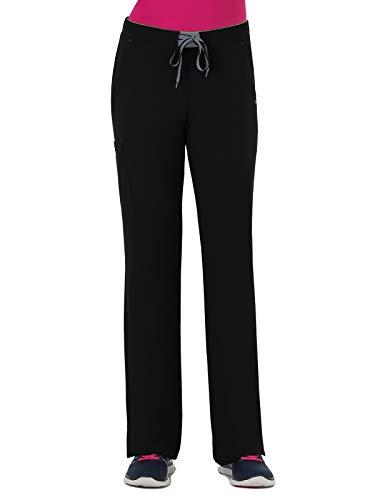 Jockey 2313 Modern Convertible Drawstring Stretch Pant Black M Petite ()