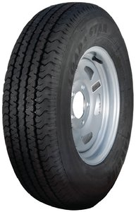 Loadstar Tires 32116DX st205/75r14 c/5h dir silv w/ri