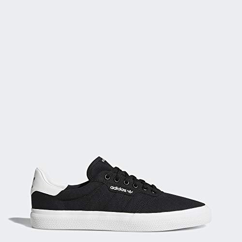 adidas Originals Unisex-Adult 3 MC Skate Shoe Skate Shoe, Black/Black/white, 7 M US
