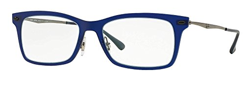 Ray-Ban Eyeglasses RX7039 5451 Dark Matte Blue 53 18 140